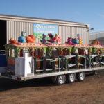 Display caravans & trailers