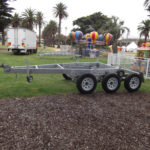 Custom-built Display caravans & trailers