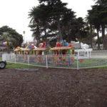 Trainride display caravan