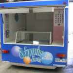 Dippin Dots food caravan