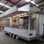 Refurbishing food vans