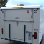 Car transporter caravans for Telstra